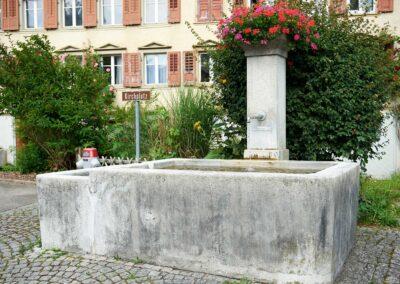 Brunnen Kirchplatz Mosnang
