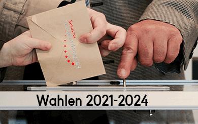Wahlergebnisse Amtsdauer 2021-2024